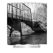 Zoar Iron Bridge Shower Curtain