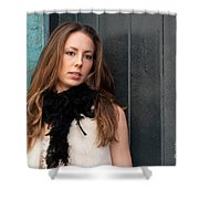 Zoe 12 Shower Curtain