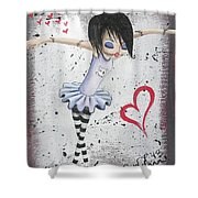Zombie Ballet Shower Curtain