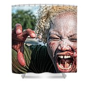Zombie Run Nola 1 Shower Curtain
