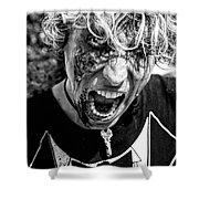 Zombie Run Nola 14 Shower Curtain