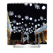 Zoo Lights At The Zoo Memphis Shower Curtain