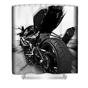 Zoomed Gsxr Shower Curtain