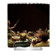 Zubin Mehta Israeli Philharmonic  Shower Curtain