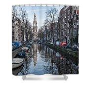 Zuiderkerk Amsterdam Shower Curtain
