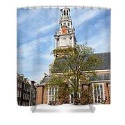Zuiderkerk In Amsterdam Shower Curtain