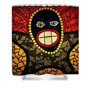 Zulu Man In Lomo Shower Curtain