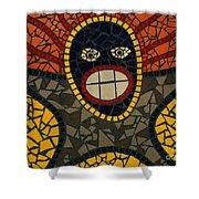 Zulu Man Shower Curtain
