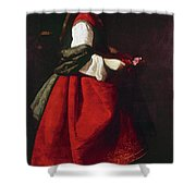 Zurbur�n Saint Casilda Shower Curtain