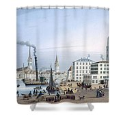 Zurich Shower Curtain by Swiss School
