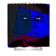 Zweistein - The Brain Man Shower Curtain
