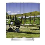 1916 Royal Aircraft F.e.8 World War One Airplane Photo Poster Print Shower Curtain
