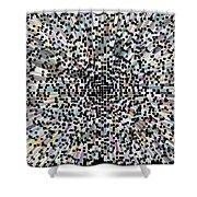 3d Art Abstract Shower Curtain
