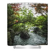 A Mystical Place Shower Curtain