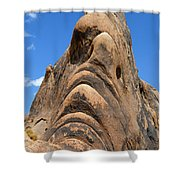 Alabama Hills Monster Shower Curtain