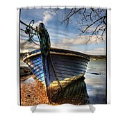 Blues - Boat Shower Curtain