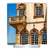Ca D Zan  Winter Home Of John And Mable Ringling Shower Curtain