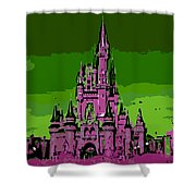 Castle Of Dreams Shower Curtain