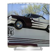 Route 66 De Soto  Shower Curtain