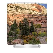 East Zion Canyon Hdr Shower Curtain