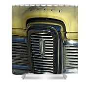 Edsel Grill Shower Curtain