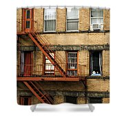 Fire Escapes - Nyc Shower Curtain