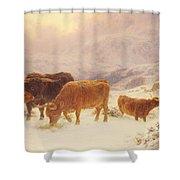 Hard Times 1898 Shower Curtain