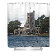 Island Castle Shower Curtain