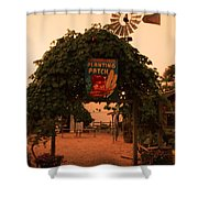 Ivy Planting Patch Arch Shower Curtain