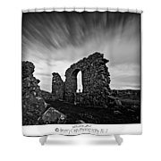 Llanddwyn Island Ruins Shower Curtain