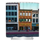 Main Street Decay 11429 Shower Curtain