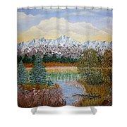 Mountain Fall Shower Curtain