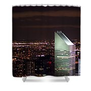 Night View Shower Curtain