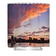 Port Of Montreal Shower Curtain