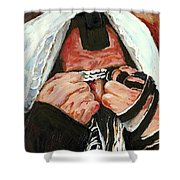 Prayer For Peace Shower Curtain