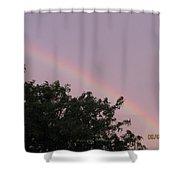 Rain And Sun Sync Bow Shower Curtain