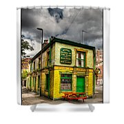 Relics - Old Pub Shower Curtain