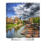 River Cam - Cambridge Shower Curtain