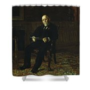 Robert M. Lindsay Shower Curtain by Thomas Cowperthwait Eakins