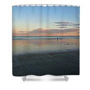 Solo By The Sea Shower Curtain