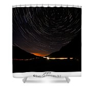 Stars And Cars Shower Curtain