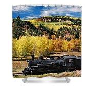 Train At Chama Shower Curtain