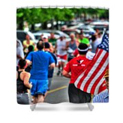 0001 Buffalo Marathon Series 2012  Shower Curtain