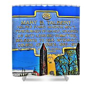 0001 Buffalo Ny History Shower Curtain