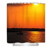 0001 Set Adrift  Shower Curtain