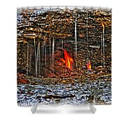 0004 Natural Elements Shower Curtain