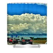 001 Grand Island Bridge Series  Shower Curtain