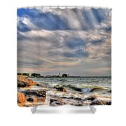 001 In Harmony With Nature Series Shower Curtain