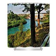 001 Niagara Gorge Trail Series  Shower Curtain
