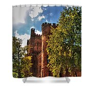 001 The 74th Regimental Armory In Buffalo New York Shower Curtain
